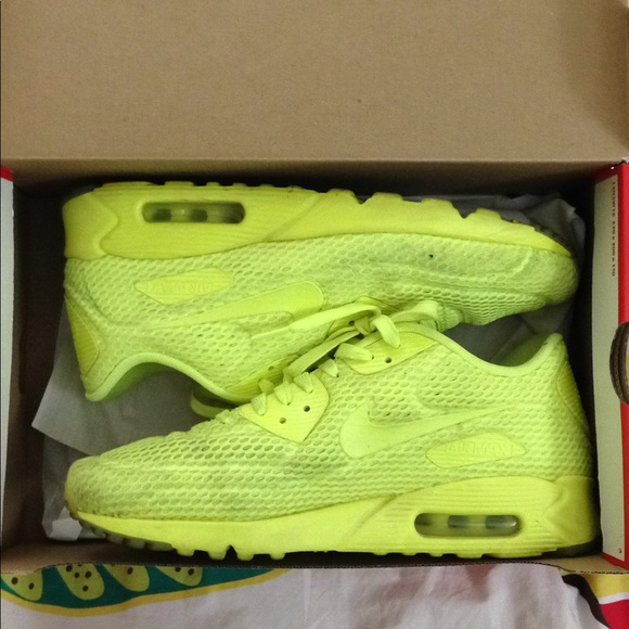 7bfa227eae8 Nike Air Max 90 Ultra Neon Yellow